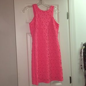 Lilly Pulitzer Coral Cut our design dress